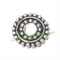Silver Plated Spacers, size: 2x18mm, weight: 3.2 grams.