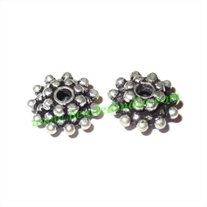 Sterling Silver .925 Spacers, size: 4x9.5mm, weight: 0.92 grams.