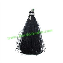 Silk Tassels 2 inch long, pack of 200 pcs., used in mala, necklaces and bracelets
