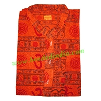 full sleeve long yoga kurta in cotton, size : chest 120 x height 104 x sleeve 59.5 centimeters.