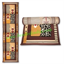 Yoga Mat, carpet based handmade comfortable mat, size 24x68 inches (61x173 cm), thickness 10mm.