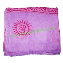 Yoga Scarves, Material : staple rayon, size 132x60 CM.
