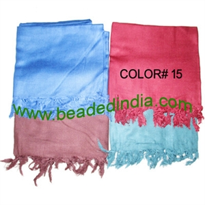 Yoga Scarves, Material : staple rayon, size 178x92 CM.